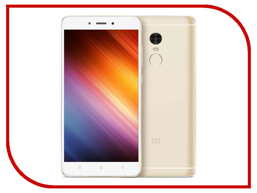 Сотовый телефон Xiaomi Redmi Note 4 4Gb RAM 64Gb Gold сотовый телефон xiaomi redmi note 5a prime 3gb ram 32gb grey