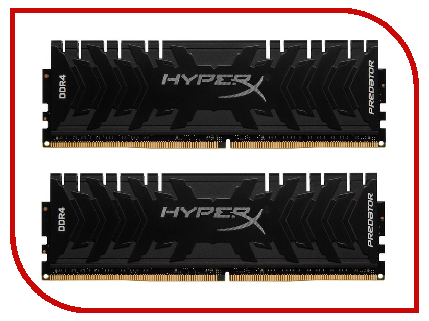 Модуль памяти Kingston HyperX Predator DDR4 DIMM 3000MHz PC4-24000 CL15 - 32Gb KIT (2x16Gb) HX430C15PB3K2/32 цена