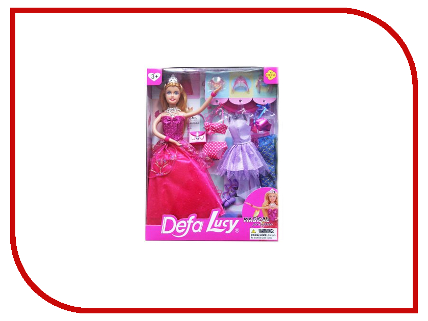 Кукла Defa Lucy Принцесса 8269 кукла defa lucy модная white orange 8316st