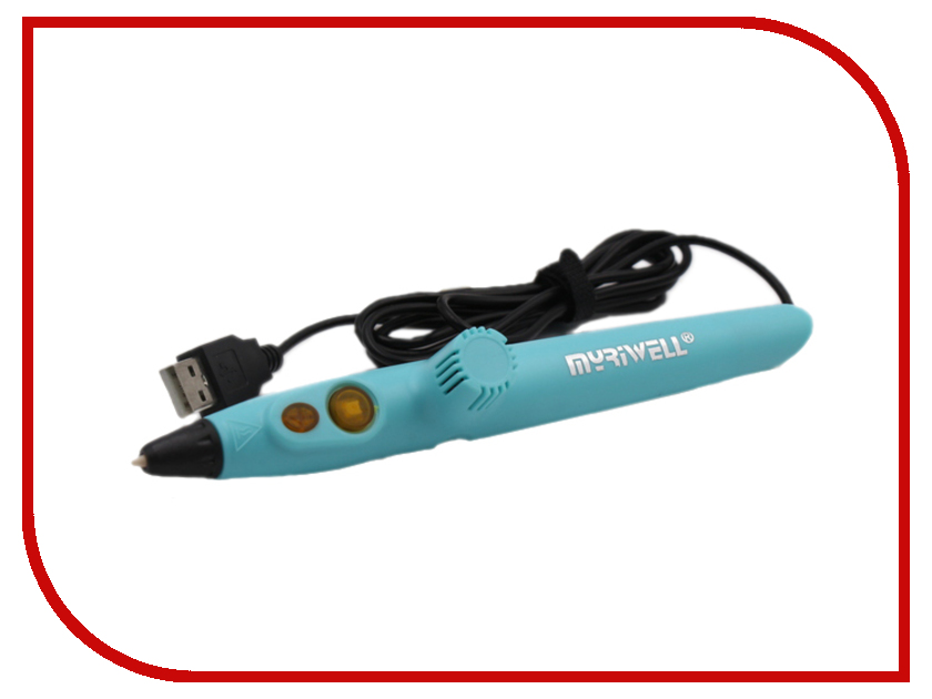 3D ручка MyRiwell RP-200A Light Blue