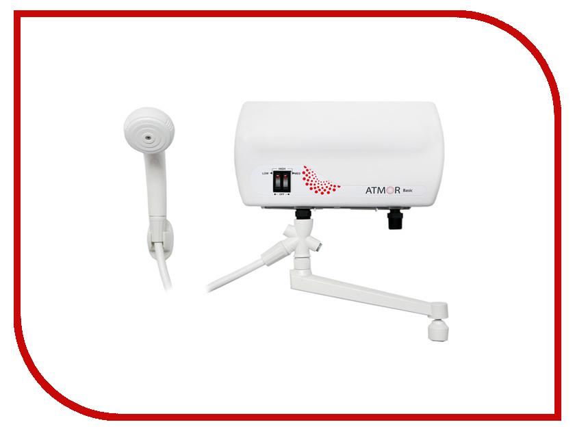 Водонагреватель Atmor Basic 5kW Совмещенный водонагреватель проточный atmor basic 5квт кухня