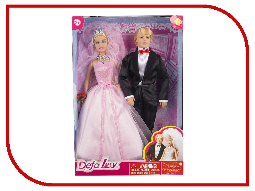Кукла Defa Lucy Свадьба 8305 кукла defa lucy мама дочь 8304a