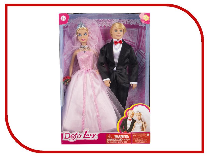Кукла Defa Lucy Свадьба 8305 куклы и одежда для кукол defa lucy кукла с аксессуарами 26 см