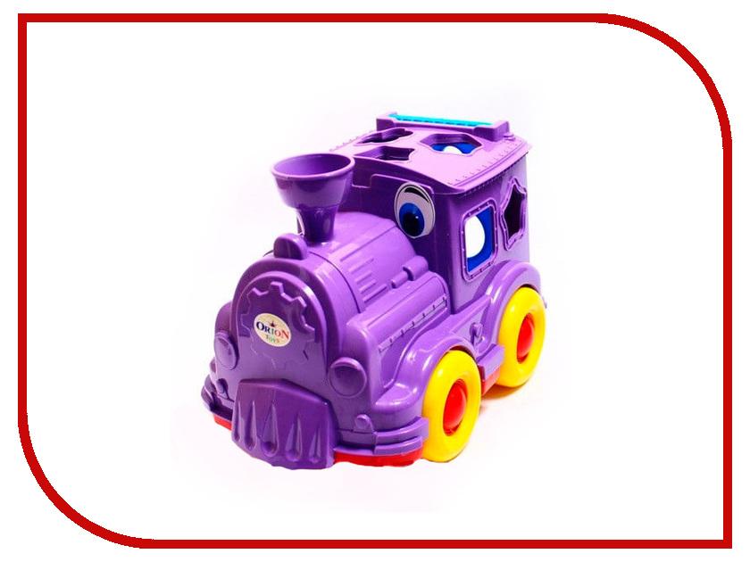 Сортер Orion Toys Паровозик-логика Кукушка 218<br>