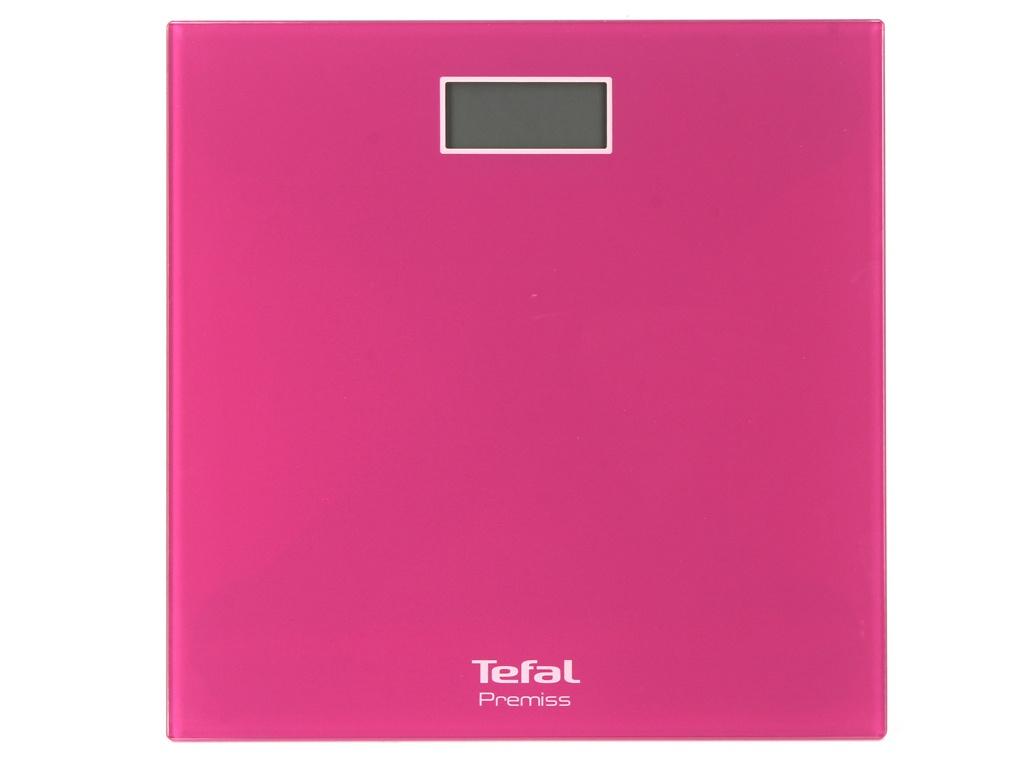 Весы напольные Tefal PP1063 Premiss Pink весы напольные saturn st ps0294 pink