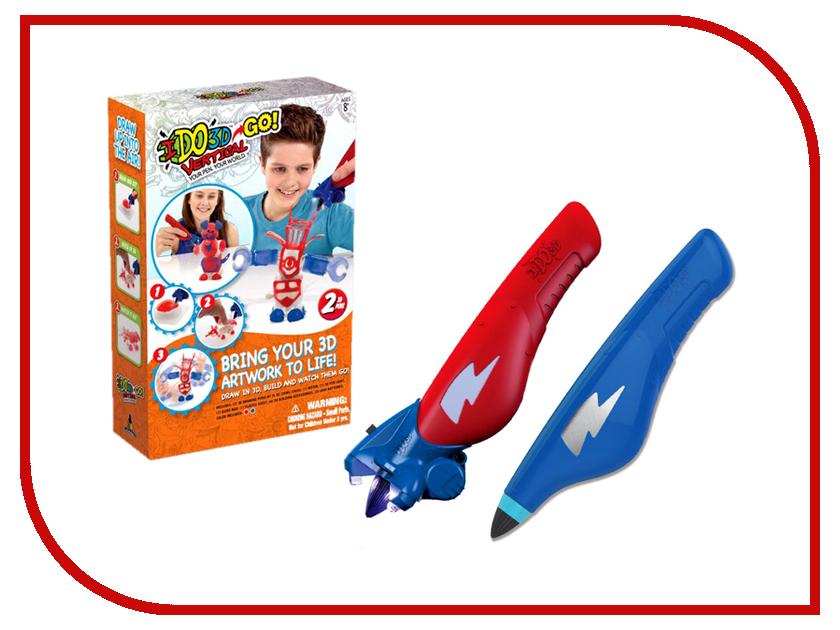 3D ручка Redwood Вертикаль GO Робот (2шт) Red / Blue 166055