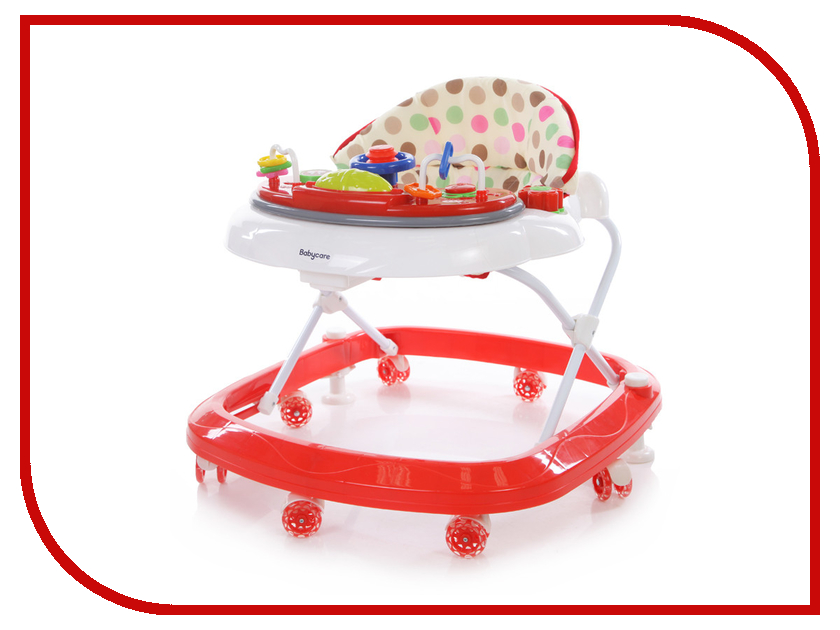 Ходунки Baby Care Sonic GL-6000S2 White Red