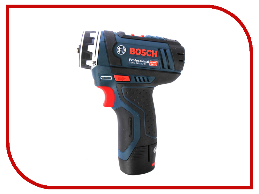 Электроинструмент Bosch GSR 12V-15 FC 2.0Ah x2 L-BOXX Set 06019F6000 аккумуляторный перфоратор bosch gbh 180 li 4 0ач x2 0611911023