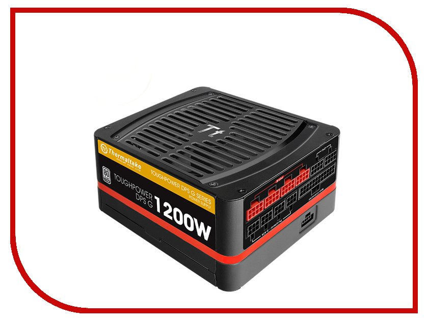 Блок питания Thermaltake Toughpower DPS G 1200W TPG-1200D-P 80+ Platinum APFC блок питания thermaltake amur 1200w apfc cm 80 gold w0430re