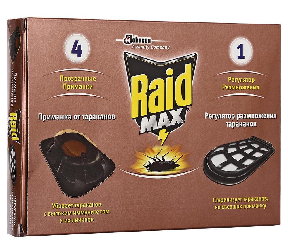 Средство защиты SC Johnson Raid Макс 22465