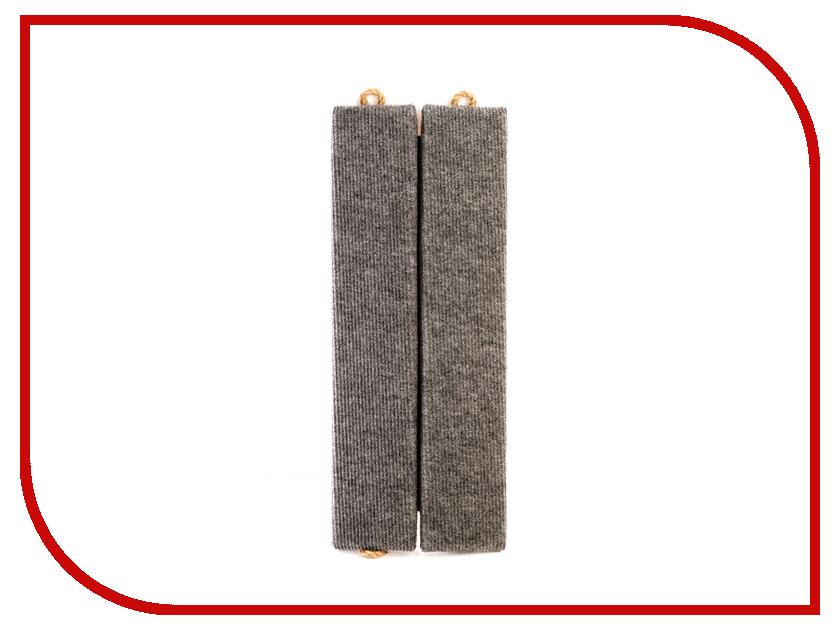 Когтеточка Царапка ковролиновая угловая 44x18cm А123