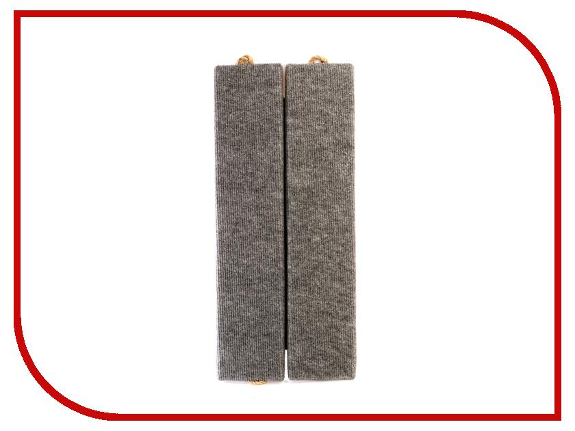 Когтеточка Царапка ковролиновая угловая 51x22cm А223