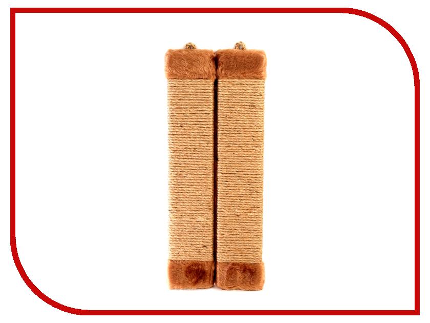 Когтеточка Царапка верёвочная угловая 44x18cm А127
