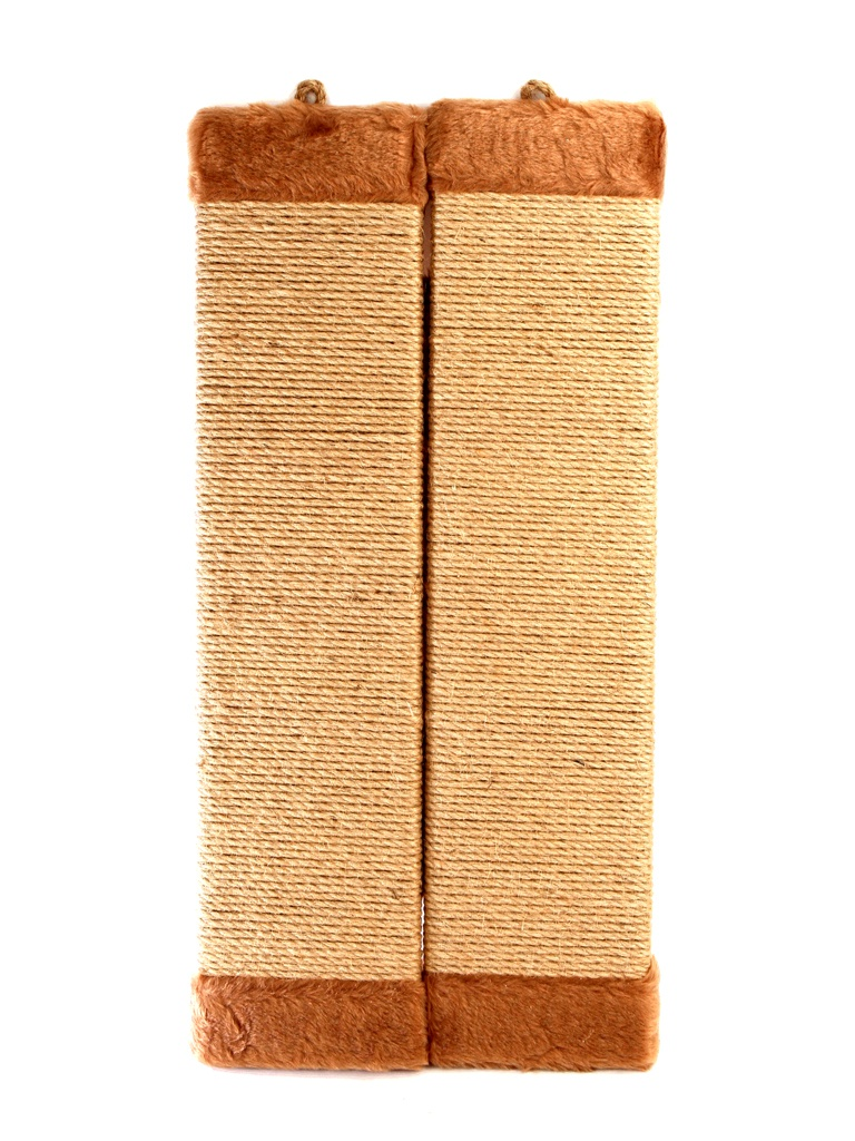 Когтеточка Царапка верёвочная большая угловая 57.5x28cm А327