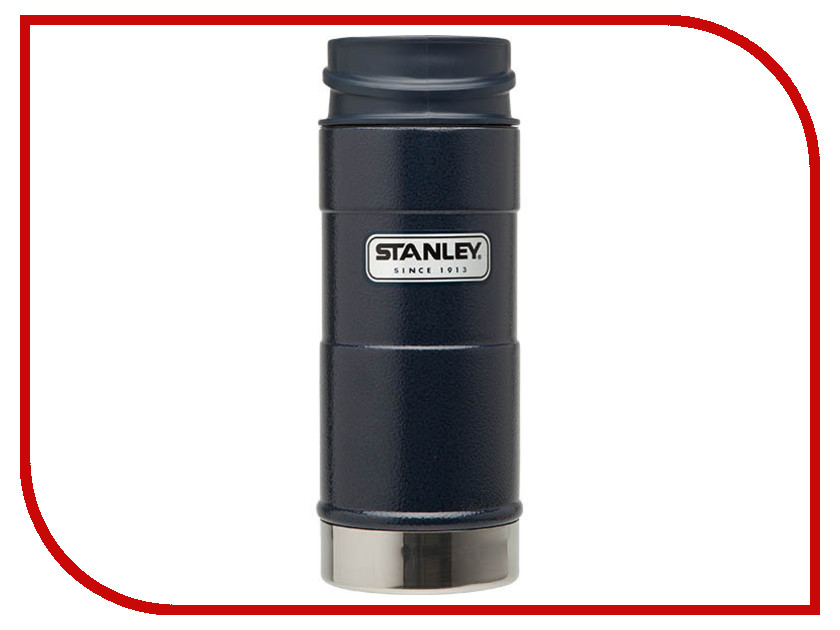 Термокружка Stanley Classic 350ml Blue 10-01569-006 термос stanley classic vacoom flask 500ml dark blue 10 00811 013