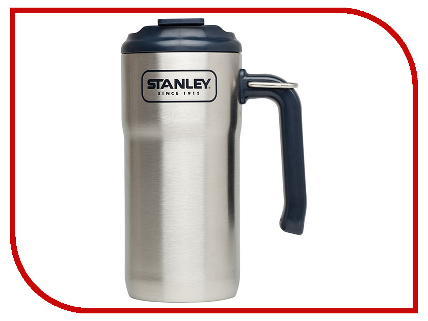 Термокружка Stanley Adventure 470ml Steel 10-01901-004