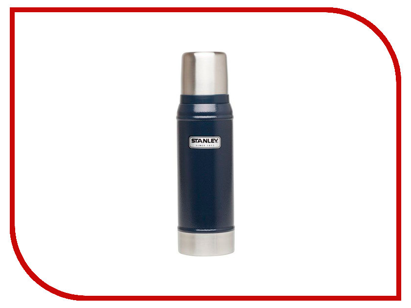 Термос Stanley Classic 750ml Blue 10-01612-010 термос stanley classic vacoom flask 500ml dark blue 10 00811 013
