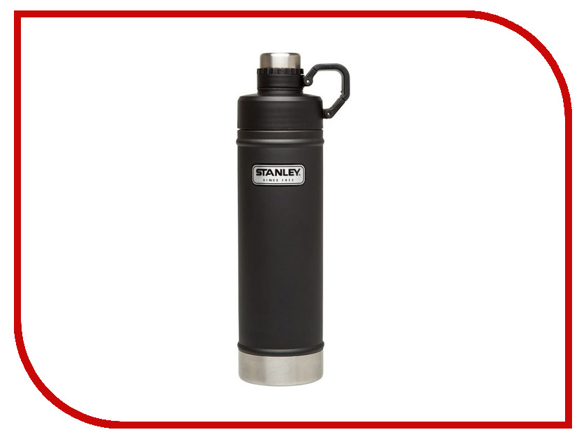 Термос Stanley Classic 750ml Black 10-02286-007 термос stanley classic vacoom flask 500ml dark blue 10 00811 013