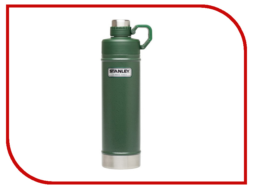 Термос Stanley Classic 750ml Green 10-02286-003 термос stanley classic vacoom flask 500ml dark blue 10 00811 013