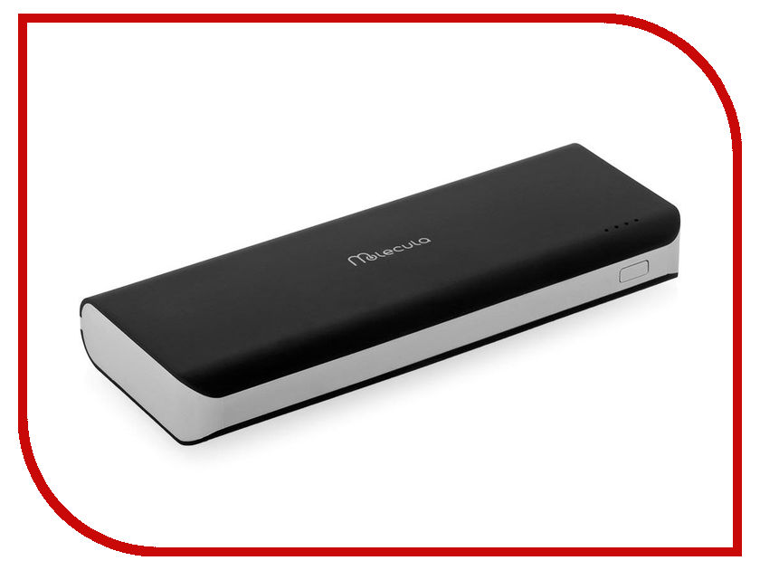 все цены на  Аккумулятор Molecula PB-12-02F 12000mAh Black-Grey  онлайн