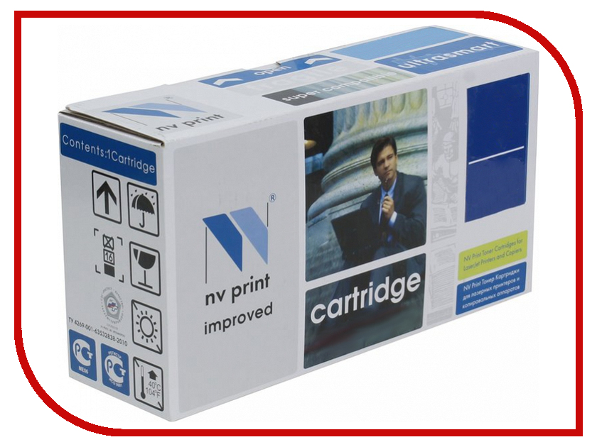 Картридж NV Print Black для LaserJet Color M551n/M551xh/M551dn/M570dn/M570dw/M575dn/M575f/M575c 11000k NV-CE400XBk картридж для принтера nv print hp q5949x q7553x black