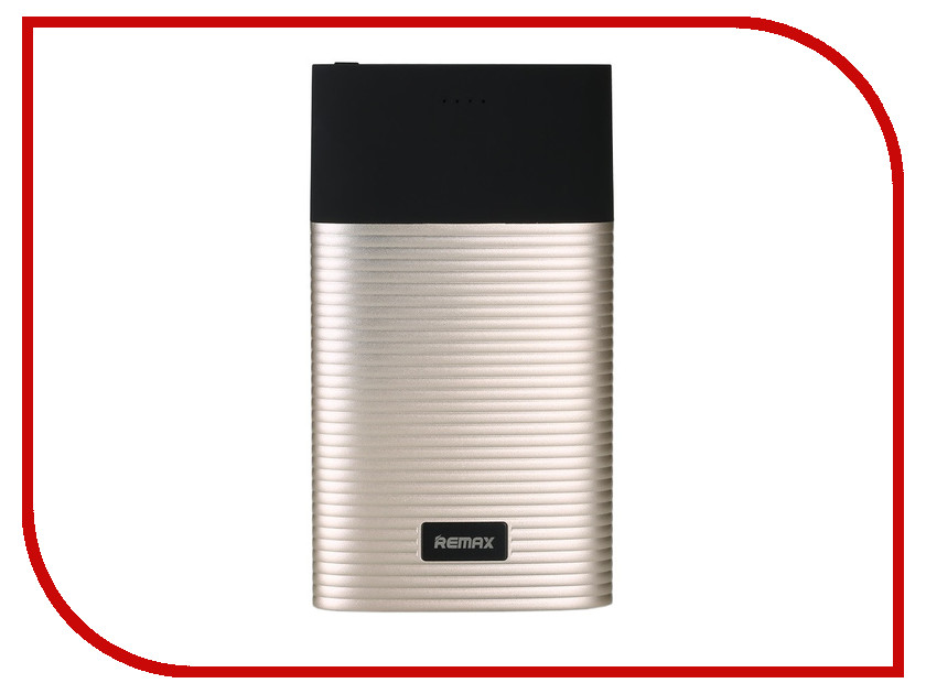 Аккумулятор Remax Perfume RPP-27 10000mAh Gold-Black 68903 аккумулятор remax vanguard 10000mah gold