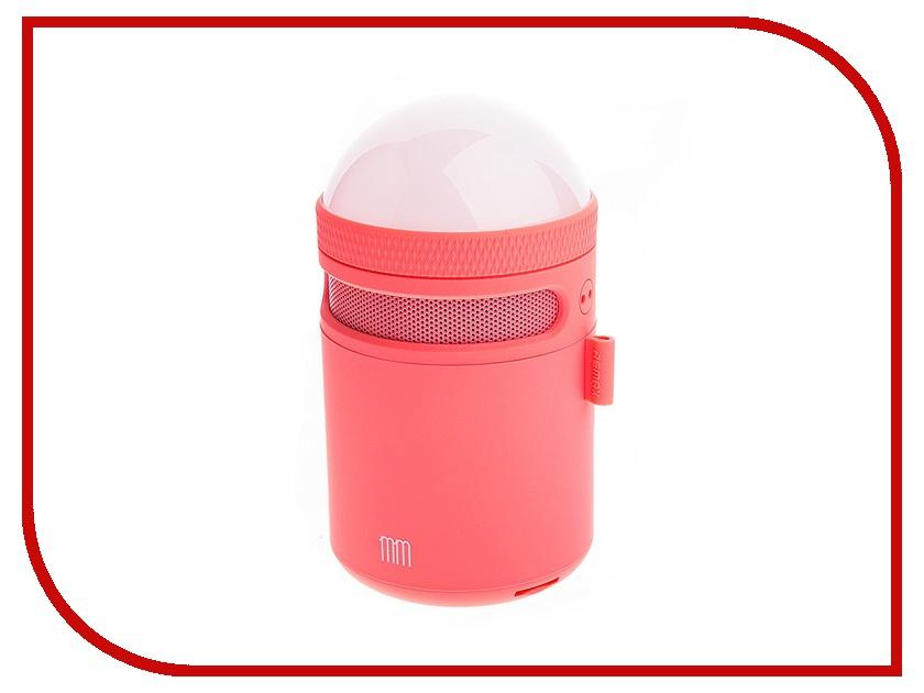 Колонка Remax RB-MM Led light Pink 66357