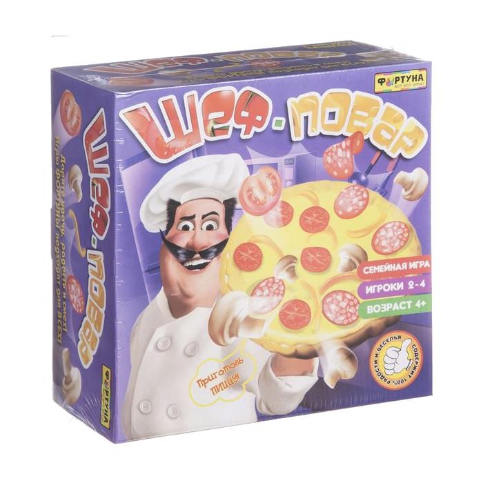все цены на Настольная игра Фортуна Шеф-повар Ф77075 онлайн