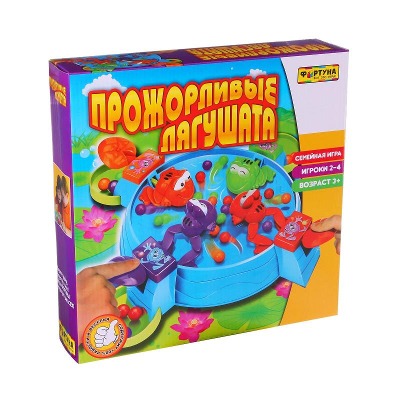 Настольная игра Фортуна Прожорливые лягушата Ф51237