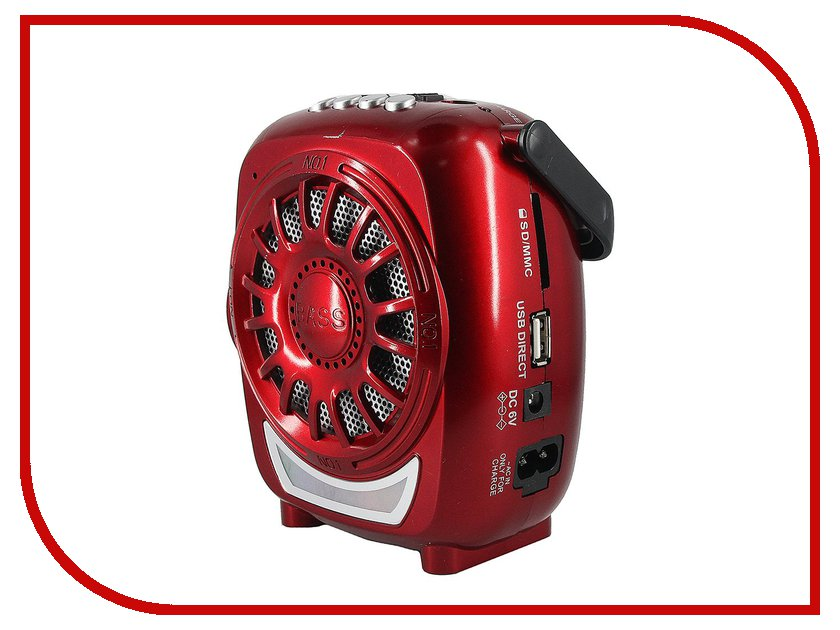 Колонка Activ RS-607U Red 60179