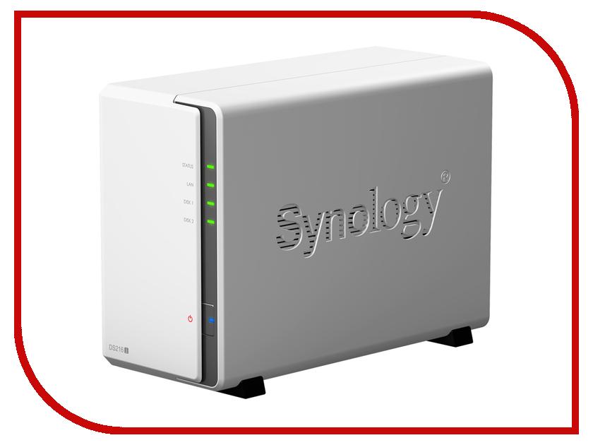 Сетевое хранилище Synology DS216j сетевое хранилище synology ds216 ii