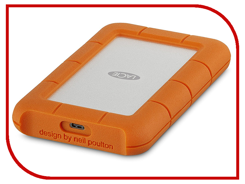 Жесткий диск LaCie Rugged Mini 2Tb STFR2000800 lacie rugged thunderbolt 250gb ssd накопитель lac9000490