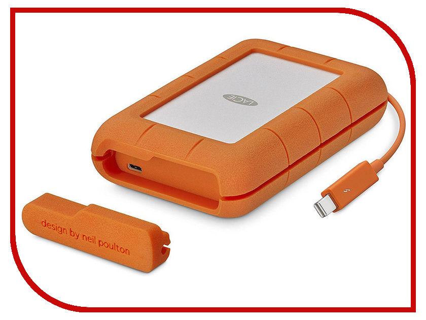 Жесткий диск LaCie Rugged Thunderbolt 5Tb STFS5000800 съемный жесткий диск lacie rugged usb3 thunderbolt 2tb