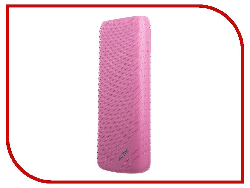 Аккумулятор Activ Fresh Line A151-02 10000mAh Pink 64050