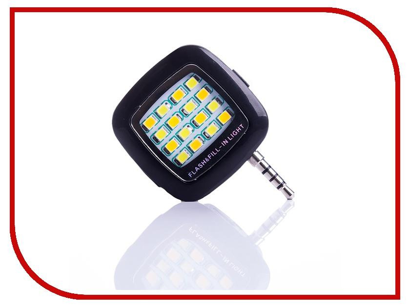 Гаджет Вспышка Activ LED Flash 16 диодов jack 3.5mm Black 69456