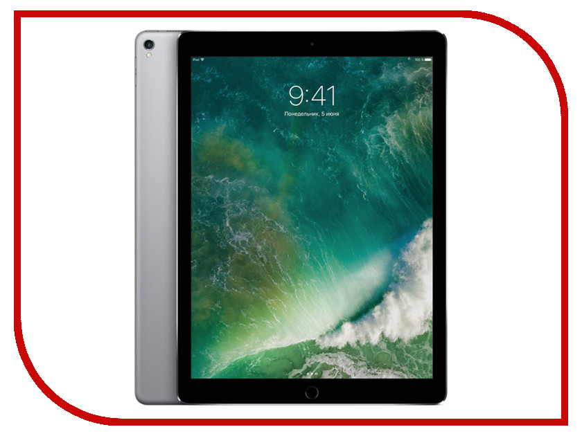 Планшет APPLE iPad Pro 2017 12.9 64Gb Wi-Fi Space Grey MQDA2RU/A apple ipad air 2 wi fi cellular 16gb gold
