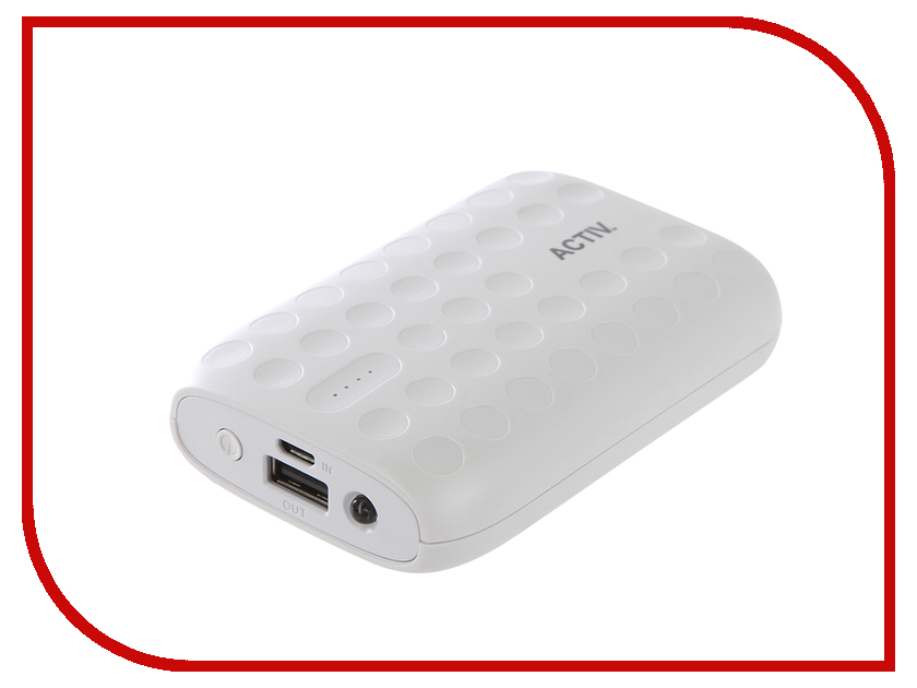 Аккумулятор Activ Fresh Line A151-01 6000mAh White 64031