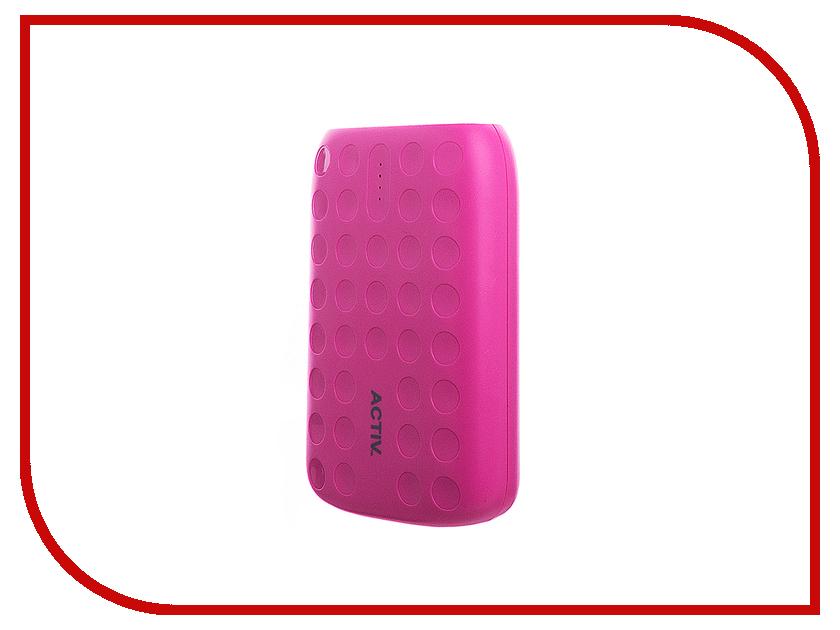 Аккумулятор Activ Fresh Line A151-01 6000mAh Pink 64030