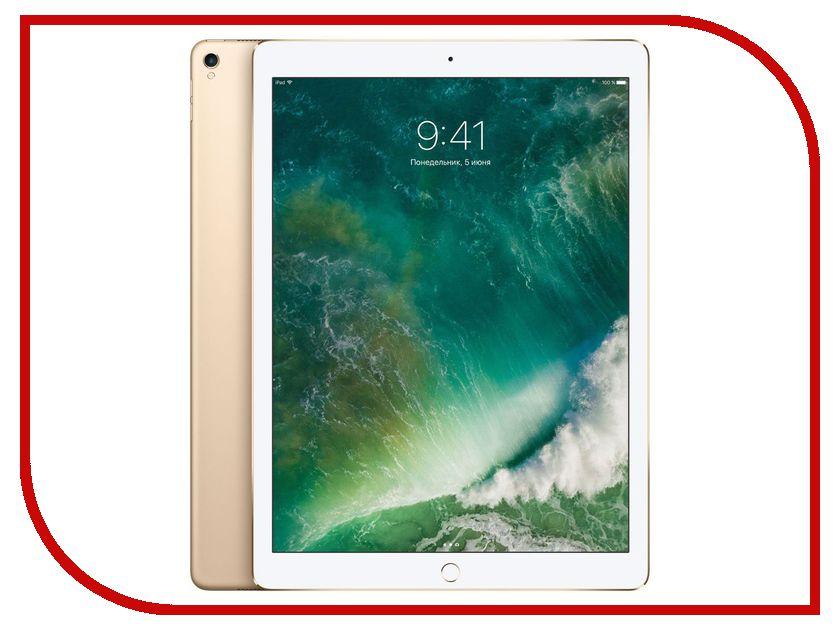 Планшет APPLE iPad Pro 2017 12.9 256Gb Wi-Fi Gold MP6J2RU/A fashion 360 rotating case for ipad pro 12 9 inch litchi leather stand back cover apple fundas