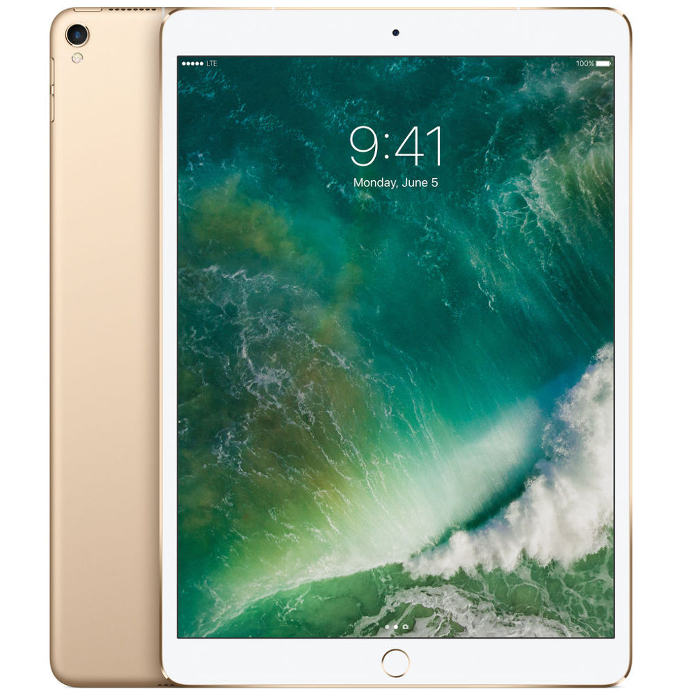 Планшет APPLE iPad Pro 2017 10.5 256Gb Wi-Fi Gold MPF12RU/A