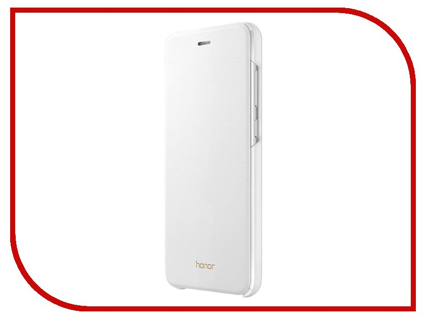 Аксессуар Чехол-книжка Huawei Honor 8 Lite White