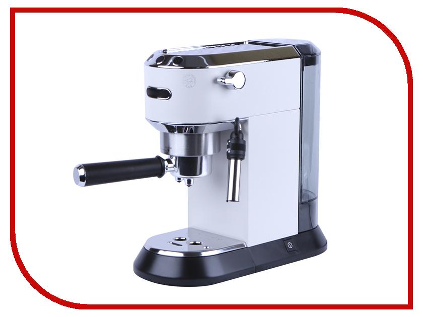 Кофемашина DeLonghi Dedica EC 685 White de'longhi dedica ec 680 black рожковая кофеварка