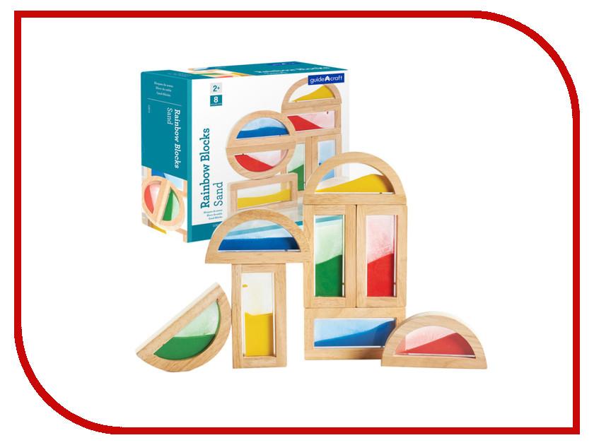 Конструктор Guidecraft Rainbow Blocks Sand G3014 купить конструктор bristle blocks