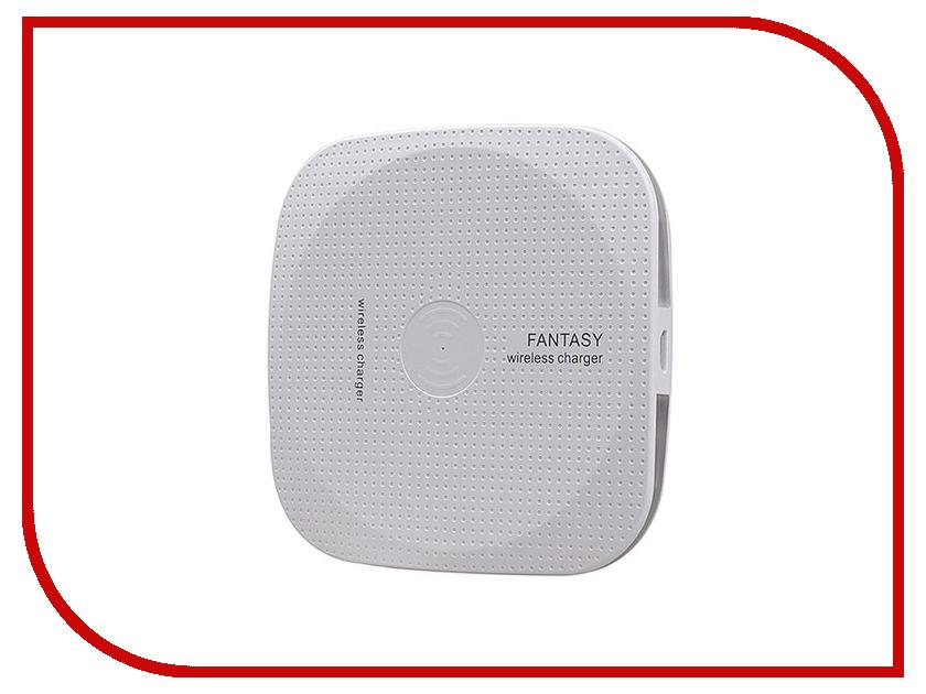 Зарядное устройство Activ QI Wireless Fantasy White 64612