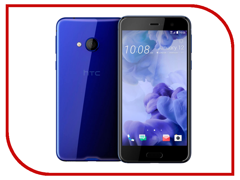 Сотовый телефон HTC U Play 64Gb Sapphire Blue htc u ultra sapphire blue 64gb