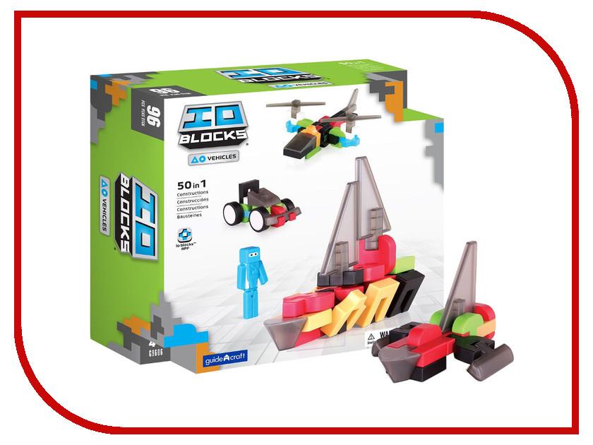 Конструктор Guidecraft IO Blocks Vehicles G9606 купить конструктор bristle blocks