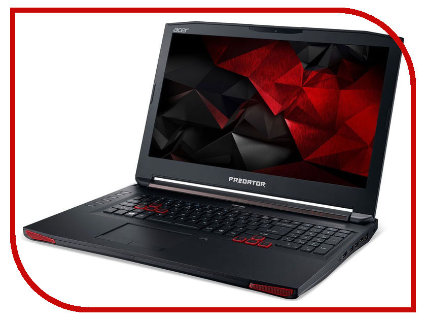 Ноутбук Acer Predator G5-793-549Y NH.Q1HER.019 (Intel Core i5-6300HQ 2.3 GHz/16384Mb/1000Gb + 128Gb SSD/No ODD/nVidia GeForce GTX 1060 6144Mb/Wi-Fi/Cam/17.3/1920x1080/Windows 10 64-bit) ноутбук asus gl702vt 90nb0cq1 m01340 intel core i7 6700hq 2 6 ghz 16384mb 1000gb 512gb ssd no odd nvidia geforce gtx 970m 6144mb wi fi bluetooth cam 17 3 1920x1080 windows 10 64 bit