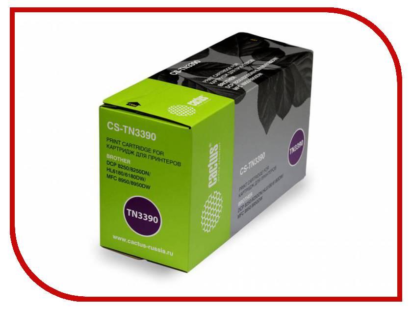 Картридж Cactus Black для DCP-8250/8250DN/HL6180/6180DW/MFC-8950 CS-TN3390 cactus cs tn8000 black тонер картридж для brother hl 720 730 730 730dx 760 760