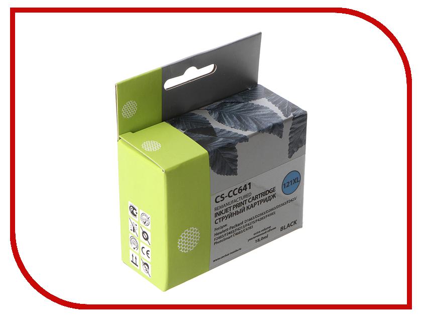 Картридж Cactus Black для DJ D1663/D2563/D2663/D5563/F2423/F2483 18ml CS-CC641