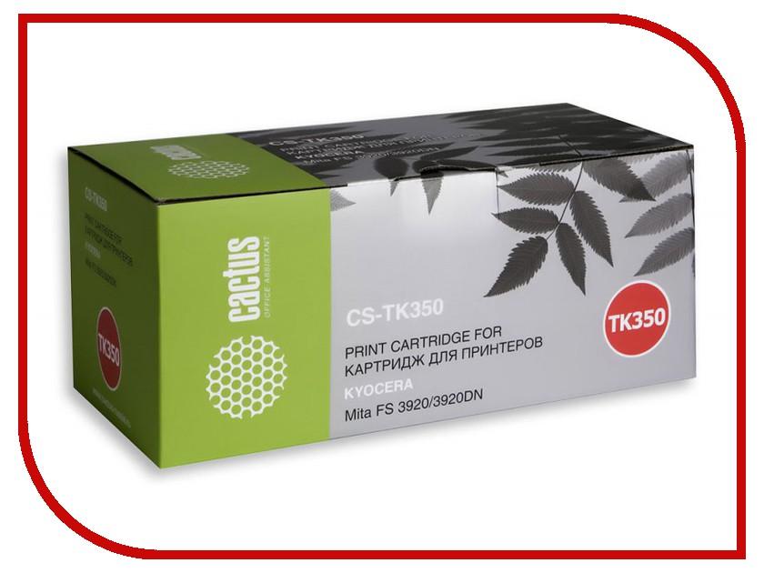Картридж Cactus Black для Mita FS 3920/3920DN 15000стр. CS-TK350 картридж cactus 520 cs pgi520bk black